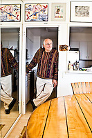 Paul Ekman pictures: Executive portrait photography of Dr. Paul Ekman by San Francisco corporate photographer Eric Millette