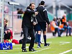 S&ouml;dert&auml;lje 2014-05-31 Fotboll Superettan Syrianska FC - &Auml;ngelholms FF :  <br /> &Auml;ngelholms tr&auml;nare Joakim Persson reagerar under matchen<br /> (Foto: Kenta J&ouml;nsson) Nyckelord:  Syrianska SFC S&ouml;dert&auml;lje Fotbollsarena &Auml;ngelholm &Auml;FF portr&auml;tt portrait