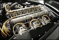 BNPS.co.uk (01202 558833)Pic: Bonhams/BNPS<br /> <br /> ****Please use full byline****<br /> <br /> Aston Martin DB4 GT engine.<br /> <br /> One of the most rare supercars ever to be built by iconic British company Aston Martin has emerged for sale for a whopping &pound;1.5 million.<br /> <br /> The flawless 1959 motor was the very first of just 45 right hand drive production versions of the world famous DB4 GT model.