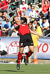 14 November 2010: Maryland's Paul Torres. The University of Maryland Terrapins defeated the University of North Carolina Tar Heels 1-0 at WakeMed Soccer Park in Cary, North Carolina in the ACC Men's Soccer Tournament Championship game.