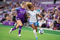 Orlando, FL - Wednesday September 11, 2019: Erin Greening, Casey Short , Orlando Pride vs  Chicago Red Stars at Exploria Stadium.