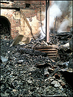 Phoenix from the flames - Clandon Park medals restored.
