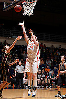 SAN ANTONIO , TX - JANUARY 27, 2010: The Texas State University Bobcats vs. The University of Texas At San Antonio Roadrunners Women's Basketball at the UTSA Convocation Center. (Photo by Jeff Huehn)