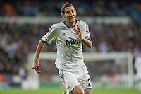 Di Maria running faster for catch a ball