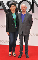 Amanda Posey &amp; Nick Hornby at the &quot;Jason Bourne&quot; European film premiere, Odeon Leicester Square cinema, Leicester Square, London, England, UK, on Monday 11 July 2016.<br /> CAP/CAN<br /> &copy;CAN/Capital Pictures /MediaPunch ***NORTH AND SOUTH AMERICAS ONLY***