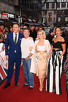 David Walliams, Simon Cowell, Amanda Holden &amp; Alesha Dixon at the Britain's Got Talent - London Auditions at the London Palladium, London, UK. <br /> 29th January  2017<br /> Picture: Steve Vas/Featureflash/SilverHub 0208 004 5359 sales@silverhubmedia.com