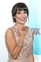 Lea Michele at the Fox 2012 Programming Presentation Post-Show Party at Wollman Rink in Central Park on May 14, 2012 in New York City.