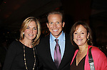 One Life To Live Kassie DePaiva (host) and Hillary B. Smith pose with Chris Wragge, CBS Early Show Anchor at 18th Annual Feast to benefit Center for Hearing and Communications (CHC) on October 24, 2011 at Chelsea Pier 60, New York City, New York.  (Photo by Sue Coflin/Max Photos)