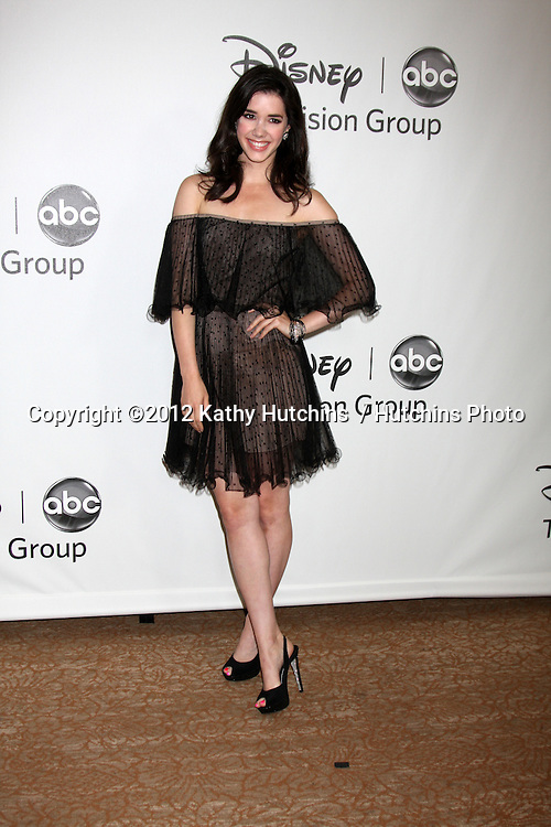 LOS ANGELES - JUL 27:  Erica Dasher arrives at the ABC TCA Party Summer 2012 at Beverly Hilton Hotel on July 27, 2012 in Beverly Hills, CA