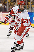 Brian McGuirk - The Boston University Terriers defeated the Boston College Eagles 2-1 in overtime in the March 18, 2006 Hockey East Final at the TD Banknorth Garden in Boston, MA.