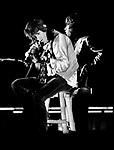 Rolling Stones 1970 Keith Richards and Mick Jagger.© Chris Walter.