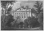 Earl Spencer's House, Green Park, engraving 'Metropolitan Improvements, or London in the Nineteenth Century' London, England, UK 1828 , drawn by Thomas H Shepherd