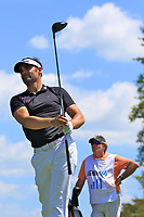 Lee Slattery (ENG) during the first round of the Lyoness Open powered by Organic+ played at Diamond Country Club, Atzenbrugg, Austria. 8-11 June 2017.<br /> 08/06/2017.<br /> Picture: Golffile | Phil Inglis<br /> <br /> <br /> All photo usage must carry mandatory copyright credit (&copy; Golffile | Phil Inglis)