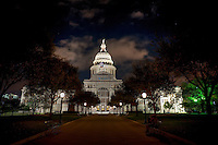 This is an mage of the Texas Capital at night located in downtown Austin where is one of the most popular tourist spot to visit.  We love this shot of the State Capital at night with sort of that haunting look not an image you can capture in the day time as there are far too many people there.