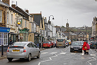 High Street, Cowbridge, Wales, UK. Friday 08 February 2019