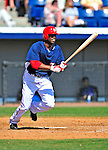 10 March 2009: Washington Nationals infielder Freddie Bynum in action during a Spring Training game against the New York Mets at Space Coast Stadium in Viera, Florida. The Nationals and Mets tied 5-5 in the 10-inning Grapefruit League matchup. Mandatory Photo Credit: Ed Wolfstein Photo