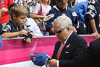 10/24/10 San Diego, CA:  New England Patriots owner Howard Kraft before an NFL game played at Qualcomm Stadium between the San Diego Chargers and the New England Patriots. The Patriots defeated the Chargers 23-20.