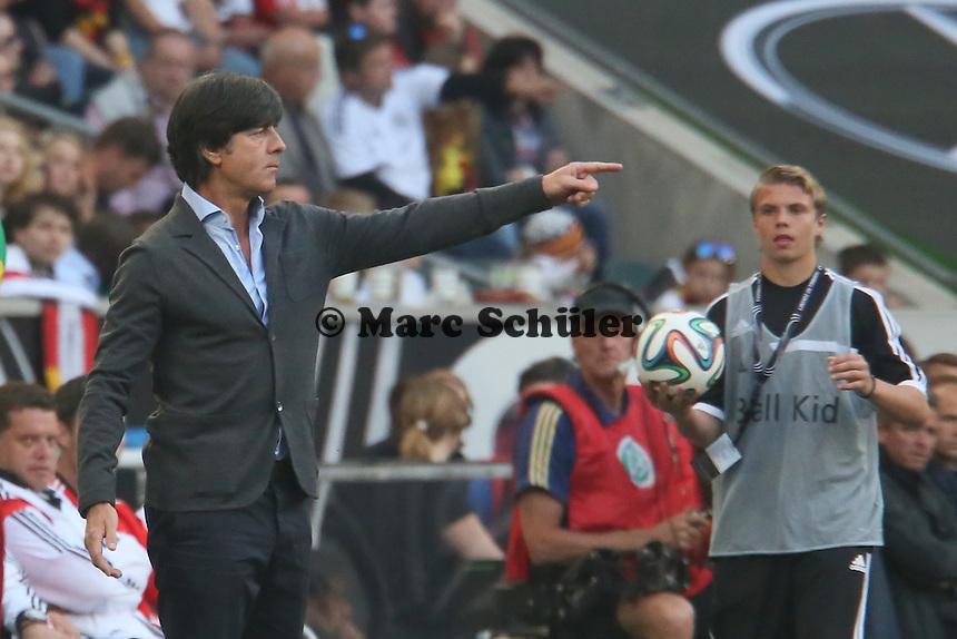 Bundetrainer Joachim Löw (D) - Deutschland vs. Kamerun, Mönchengladbach