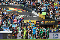 Seattle, WA - Tuesday June 14, 2016: Walk On during a Copa America Centenario Group D match between Argentina (ARG) and Bolivia (BOL) at CenturyLink Field.