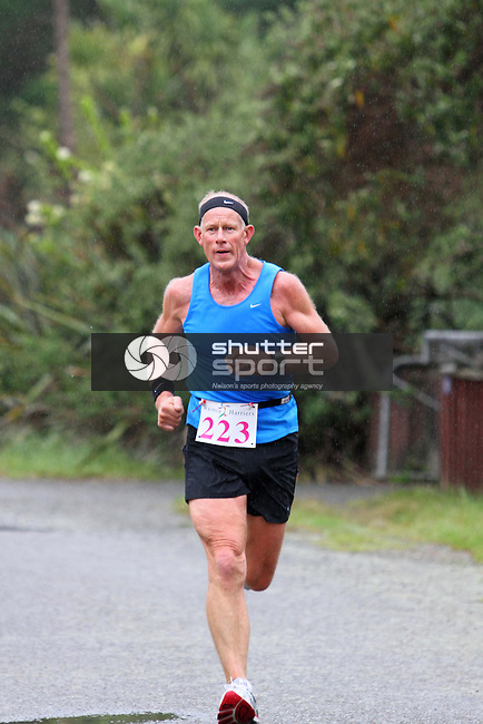 Half Marathon &amp; Road Relay, Rabbit Island, SI Masters Games, 22 October 2011, Nelson, New Zealand<br /> Photo: Marc Palmano/shuttersport.co.nz