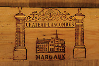Europe/France/Aquitaine/33/Gironde : Chateau Lascombes (AOC  Margaux) - Les chais