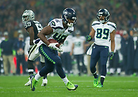 Seattle Seahawks Tight End tyrone Swoops (46) in action