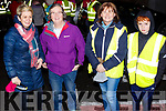 Attending the SuperValu Rock St Operation Transformation on Thursday evening last, l to r, Tara Conway, Mary O'Connell, Mag Downey and Jamie Lynch.