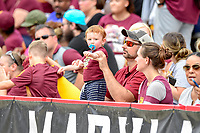 College Park, MD - SEPT 22, 2018: A young Minnesota Golden Gophers fan during game between Maryland and Minnesota at Capital One Field at Maryland Stadium in College Park, MD. The Terrapins defeated the Golden Bears 42-13 to move to 3-1 on the season. (Photo by Phil Peters/Media Images International)