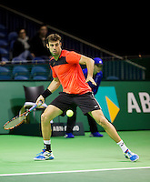 Februari 10, 2015, Netherlands, Rotterdam, Ahoy, ABN AMRO World Tennis Tournament, Marcel Granollers (ESP) <br /> Photo: Tennisimages/Henk Koster
