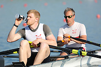 Race: 97  Event: Challenge 2x  Final<br /> <br /> Wallingford Regatta 2018<br /> <br /> To purchase this photo, or to see pricing information for Prints and Downloads, click the blue 'Add to Cart' button at the top-right of the page.
