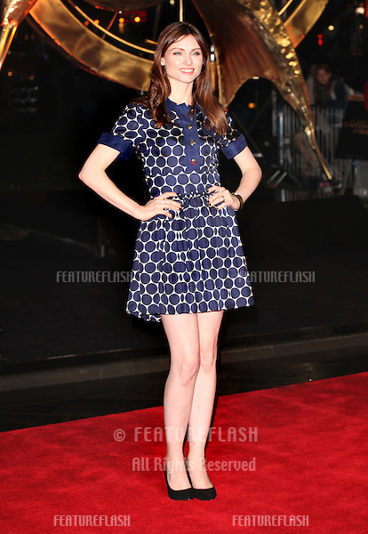Sophie Ellis Bextor arriving for The Hunger Games, Catching Fire World Premiere, London Leicester Square. 11/11/2013 Picture by: Alexandra Glen / Featureflash
