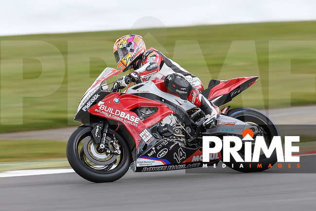 Lee Jackson (Buildbase BMW) during the MCE British Superbikes Championship (BSB) Round One (Friday Practice) at Silverstone Circuit, Towcester, England on 8 April 2016. Photo by David Horn / PRiME Media Images.
