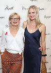 Martha Plimpton and sister orel Carradine attends the Opening Night Performance of the Playwrights Horizons world premiere production of 'Log Cabin' on June 25, 2018 at Playwrights Horizons in New York City.