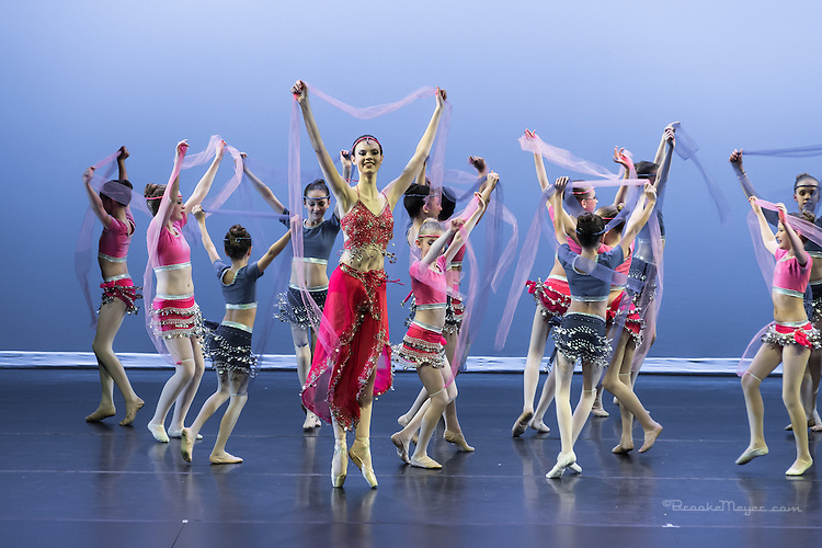 """United We Dance"", the combined production of 3D Project Jazz and Cary Ballet companies Spring Concert. Saturday, 6:30 PM, Cary Arts Center, 15 March 2014"