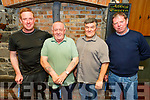 The winners of the St Brendans Hurling Club Golf competition receive their prizes in the Abbey Tavern, Ardfert on Friday night.<br /> John Paul Leen, Derry Fitzgerald, Justin Horgan (Vice Chairman of St Brendans Hurling Club) and Martin Lawlor.
