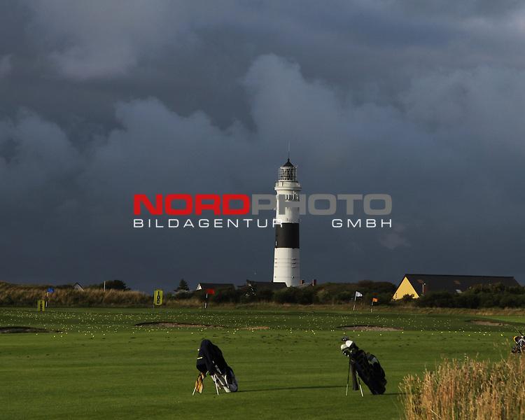 08.08.2013, Nordseeinsel Sylt, GER, im Bild Golfausruestung am Golfplatz in Kampen, Foto © nph / Kohring