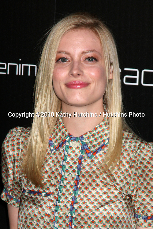 LOS ANGELES - NOV 2:  Gillian Jacobs arrives at the Decades Denim Fashion Show at Private Home on November 2, 2010 in Beverly HIlls, CA