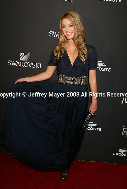 BEVERLY HILLS, CA. - February 17: Costume Designer Annabelle Wallis arrives at the 11th Annual Costume Designers Guild Awards at the Four Seasons Beverly Wilshire Hotel on February 17, 2009 in Beverly Hills, California.