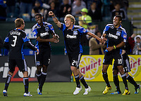 SANTA CLARA, CA -- May 14th, 2011: San Jose Earthquakes defeated the Columbus Crew 3-0 at Buck Shaw Stadium in Santa Clara on May 14th, 2011.