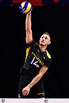 13.09.2019, Paleis 12, BrŸssel / Bruessel<br />Volleyball, Europameisterschaft, Deutschland (GER) vs. Serbien (SRB)<br /><br />Aufschlag / Service Moritz Karlitzek (#14 GER)<br /><br />  Foto © nordphoto / Kurth