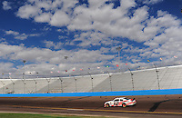 Nov. 13, 2009; Avondale, AZ, USA; NASCAR Sprint Cup Series driver Brad Keselowski during practice for the Checker O'Reilly Auto Parts 500 at Phoenix International Raceway. Mandatory Credit: Mark J. Rebilas-