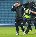 Aberdeen manager Derek McInnes at the end of the game.
