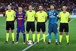 Supercopa de Espa&ntilde;a - Ida.<br /> FC Barcelona vs R. Madrid: 1-3.<br /> Jon Nu&ntilde;ez Fernandez, Andres Iniesta, Ricardo de Burgos, Iker de Francisco, Sergio Ramos &amp; Antonio Santos.