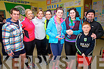 Taking part in the Portmagee NS 5/10K Walk/Run on Sunday last were l-r; David Hussey, Deirdre O'Leary, Mary Devane, Linda Cronin, Rebecca McAleese, Tara O'Sullivan, Ben & Alan Egan.