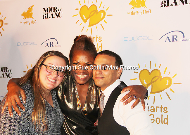 - Hearts of Gold annual All That Glitters Gala - 24 years of support to New York City's homeless mothers and their cildren - (VIP Reception - Silent Auction) was held on November 7, 2018 at Noir et Blanc and the 40/40 Club in New York City, New York.  (Photo by Sue Coflin/Max Photo)