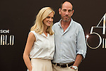 """Miguel Ferrer, Emily Wickersham """"NCIS"""" attends photocall at the Monte Carlo Beach Hotel on June 10, 2014 in Monte-Carlo, Monaco."""