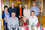 Johnny O'Connor, Mein, Knocknagoshel celebrated his 90th birthday with his family and friends in the River Island Hotel on Sunday front row l-r: William, johhny O'Connor, Nora Love. Back row: Mary Reidy, Donie Reidy, eileen Crowley, Aine Collins, Niall O'Connor