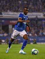 Kevin Lucien Zohi (Racing Club de Strasbourg Alsace) - 22.08.2019: Racing Straßburg vs. Eintracht Frankfurt, UEFA Europa League, Qualifikation, Commerzbank Arena<br /> DISCLAIMER: DFL regulations prohibit any use of photographs as image sequences and/or quasi-video.