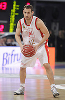 CAI Zaragoza's Pedro Llompart during Spanish Basketball King's Cup match.February 07,2013. (ALTERPHOTOS/Acero)