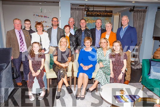 Doreen O'Connor, Scartaglen celebrated her 70th birthday with her family and friends in the Victoria House Hotel on Saturday night